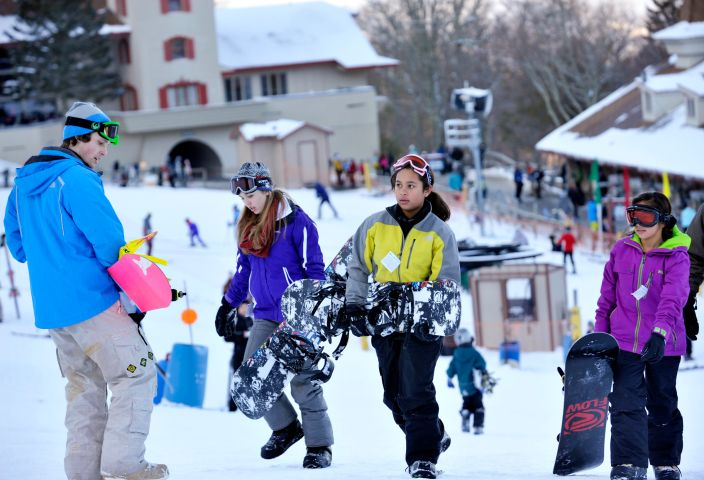 Snowboarding lessons