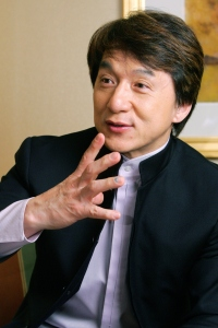 Actor Jackie Chan Interview