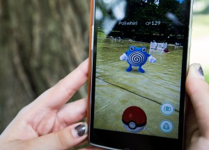 Playing Pokemon Go In Boston