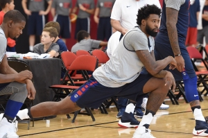 USA Basketball Men's National Team Practice