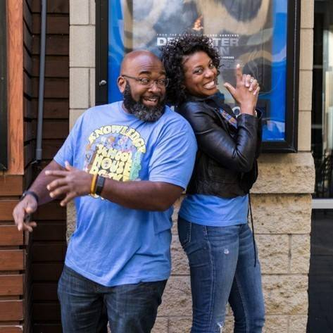 Reggie and Denada Jackson