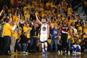 Portland Trail Blazers v Golden State Warriors - Game One