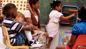 Elementary math class
