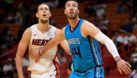 Charlotte Hornets v Miami Heat