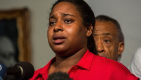 Family Of Police Chokehold Death Victim Eric Garner Hold News Conference