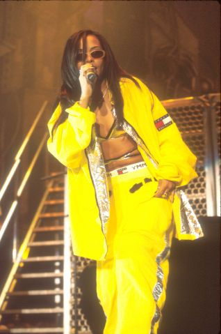 Aaliyah at The Forum