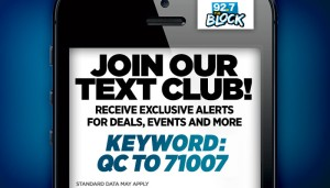 92.7 The Block Text Club