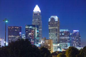 Downtown Skyline in Charlotte, North Carolina