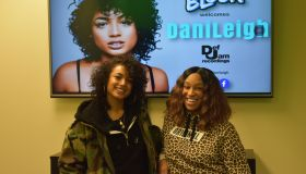 DaniLeigh Visits Radio One Charlotte