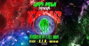Chris Brown Heartbreak On A Full Moon Flyer