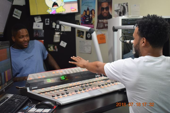 YG Visits 92.7 The Block And The Chewy Takeover