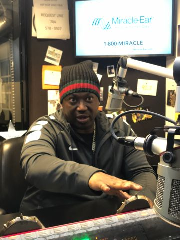 Project Pat In The 92.7 The Block Studios