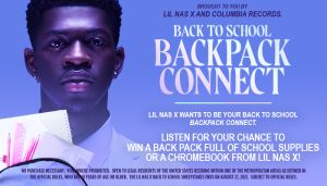 Lil Nas X Backpack Giveaway